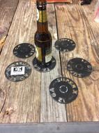 Shotgun Cutout Coasters