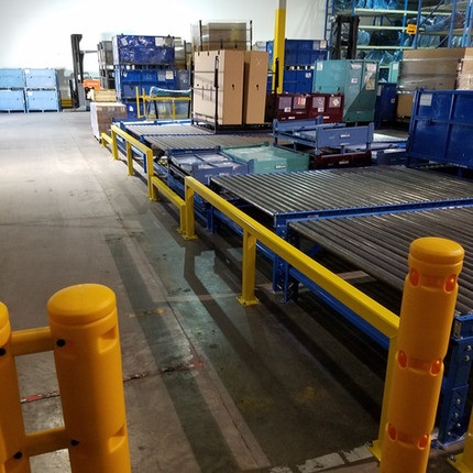 Warehouse Machinery Guardrails