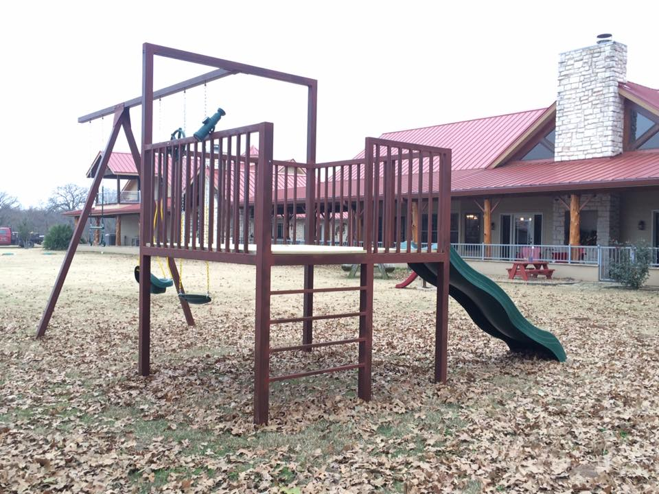A play set that's safe and durable