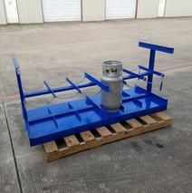 Propane storage cart or truck