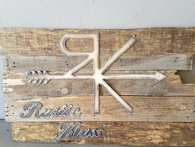 Rustic Klass signage