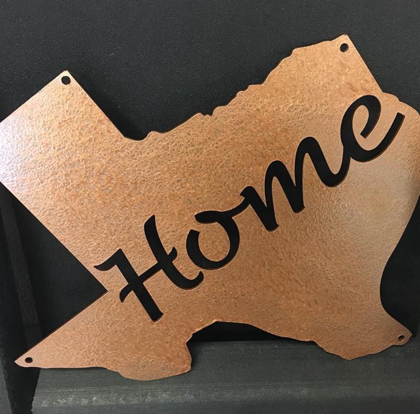 Texas cutout home