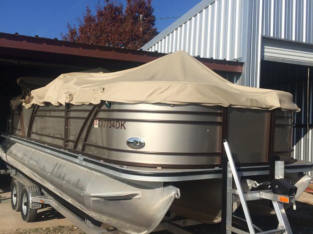Pontoon Boat Repair - Lake Granbury