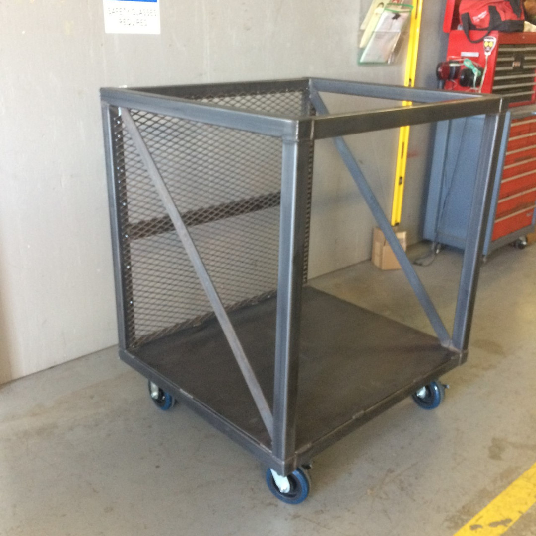 Specialized warehouse cart