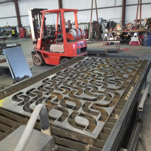 Components & Parts Being Cut on CNC