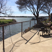 Fence by the water