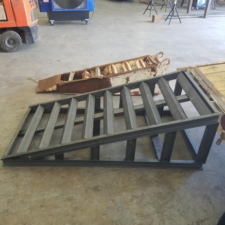custom ramp for loading