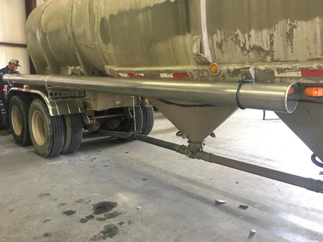 industrial truck welding work