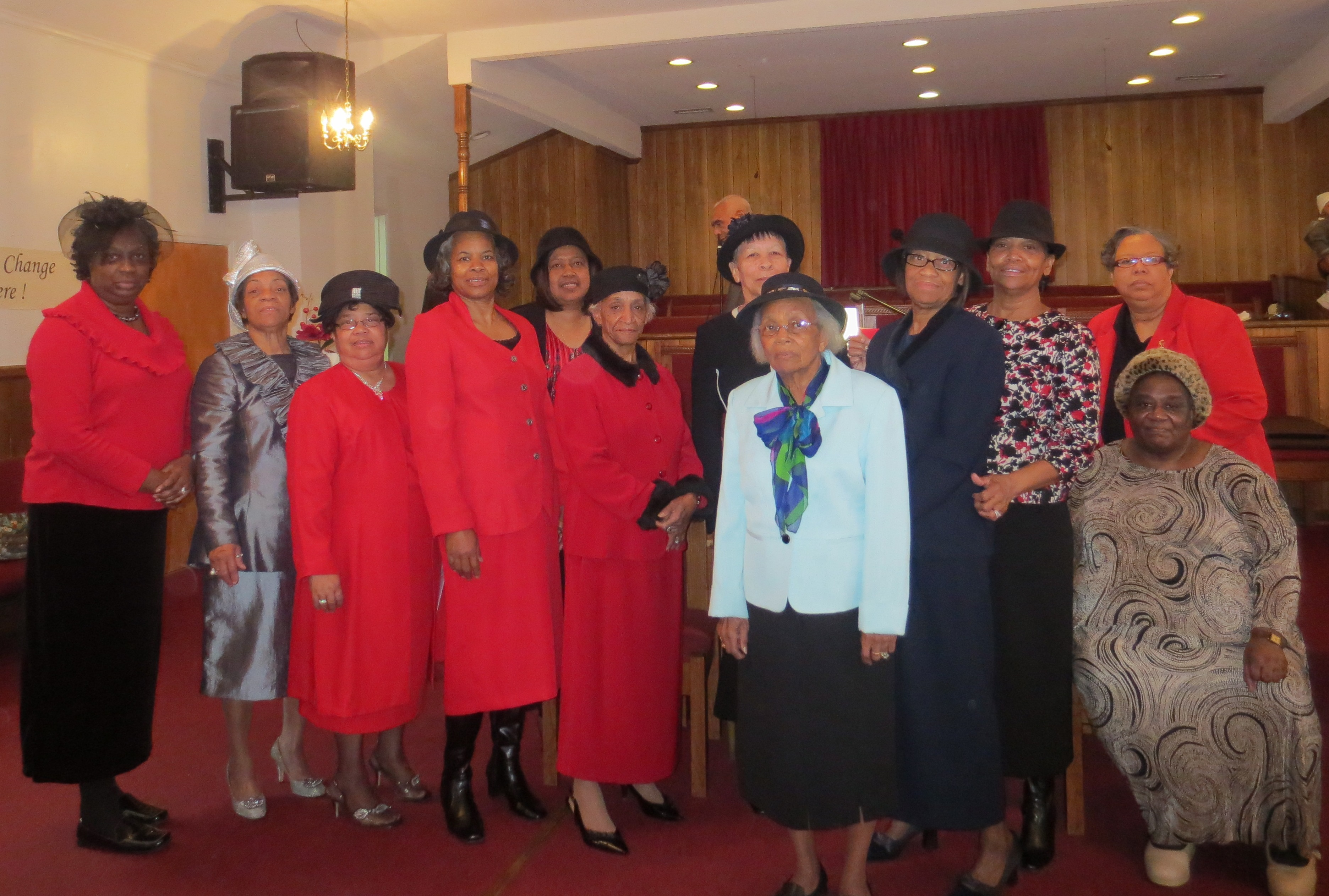 Women's Ministry's Hat Day