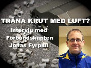 Träna krutskytte med luftpistol? - Intervju med Jonas Fyhrpihl