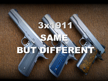 1911 - Same but different