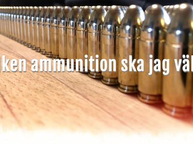 Vilken ammunition ska jag välja?