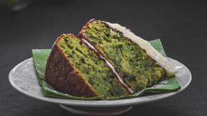 green kale cake