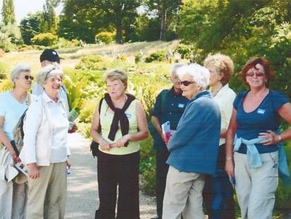 titchfield gardeners club rhs wisley vis