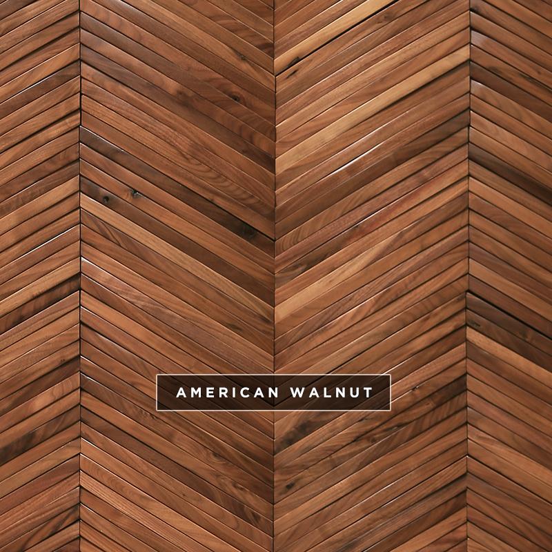 Ark Chevron - American Wlnut