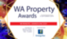 2019 Property Awards header.WINNERS ANNO