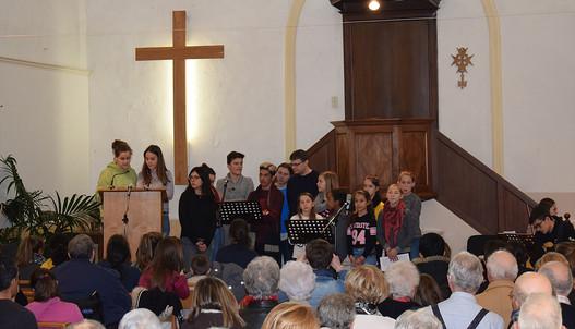 Culte animé par les jeunes