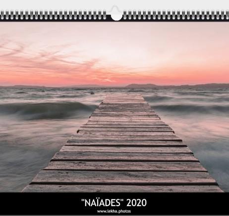 """Calendriers 2020 """"Naïades"""""""