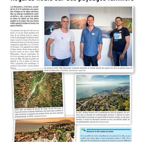 Publication Journal Vivre la Ville, Neuchâtel
