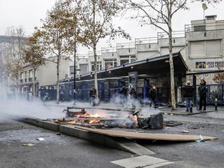 Plus d'une centaine de lycées bloqués en France