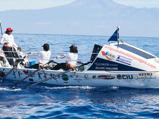 QUATRE FEMMES D'ANTIGUA-ET-BARBUDA ONT TRAVERSE L'OCEAN ATLANTIQUE A LA RAME