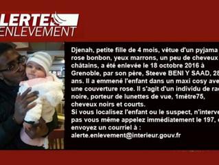 FRANCE - DISCRIMINATION RACIALE : Alerte enlèvement à Grenoble: «Un individu de race noire», le gros