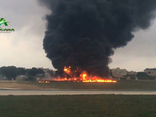 MALTE - CRASH : un avion de reconnaissance s'écrase avec cinq Français à bord