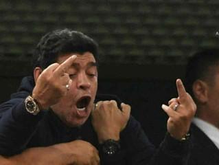 Coupe du monde 2018 - Un geste déplacé pour une qualification en huitièmes de finale, Maradona est p