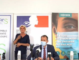 GUADELOUPE-COVID : le point sur les nouvelles mesures annoncées par le préfet