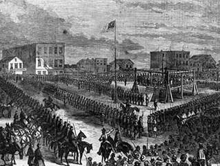 26 DÉCEMBRE 1862 : PENDAISON COLLECTIVE DES 38 GUERRIERS SIOUX !