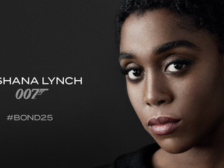 """JAMES BOND"" : LA PREMIERE FEMME 007 LASHANA LYNCH"