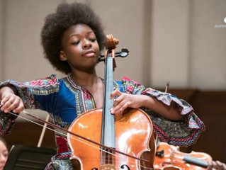 CULTURE : Ifetayo Ali-Landing Is the 14-Year-Old Cello Prodigy Who's About to Take Over Classical Mu