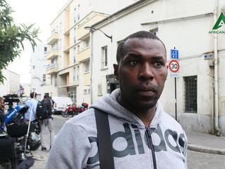 AUBERVILLIERS - Styve Masso, habitant d'Aubervilliers, est entré dans le bâtiment en flammes pour po