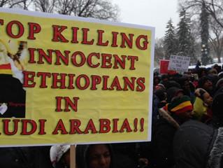 ETHIOPIE - COMMEMORATION : Massacres 2013 .Silence on tue les éthiopiens en Arabie Saoudite ! Ou est