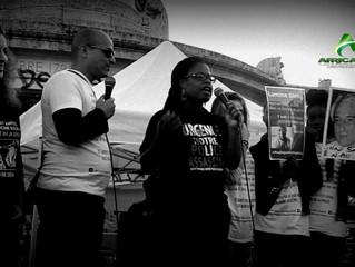 #BlackLivesMatterUSAinParis UN 14 JUILLET CONTRE LES VIOLENCES POLICIERES A PARIS PLACE DE LA REPUBL