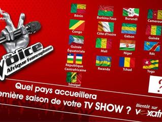MUSIQUE  : « The Voice Afrique francophone » est lancé
