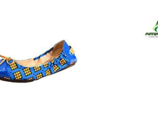 NIGERIA - MODE : Taffi Woolware Ayodele, la Nigériane qui conçoit des chaussures à partir de tissus