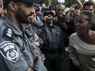 Le mouvement éthiopien anti-racisme se poursuit à Tel Aviv