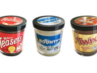 ALIMENTATION - PATE A TARTINER : Twix, Bounty et Maltesers sortent leur propre pâte à tartiner !