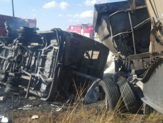 20 school children killed in horrific road accident in South Africa