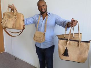MODE -  des sacs et des tuniques en liège pour les végans