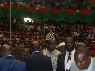 BURKINA - INVESTITURE : Insolite, Mobutu aperçu à l'investiture de Roch Kaboré