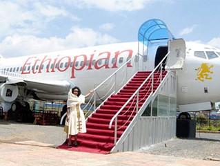 ÉTHIOPIE - INSOLITE : Un Boeing d'Ethiopian Airlines transformé en restaurant