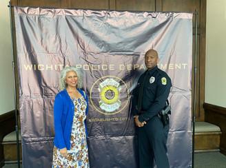Zachary Bland Swearing in as WPD officer