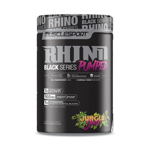 Rhino Black Series PUMPED