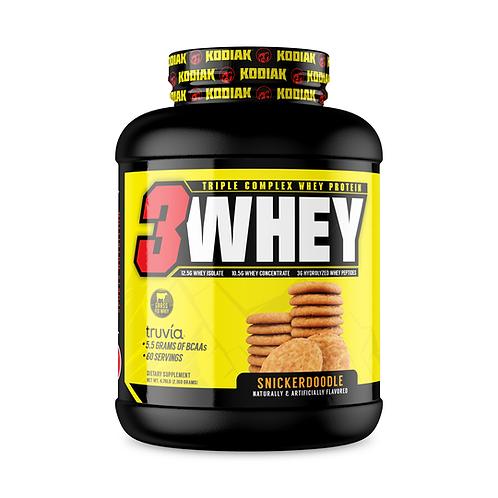 3Whey Protein Kodiak Nutrition 5lbs