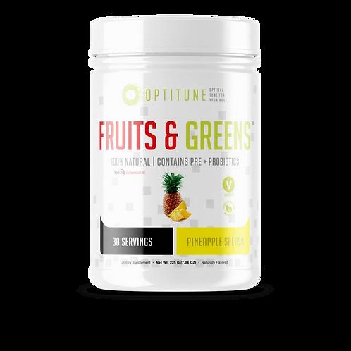 Fruits & Greens