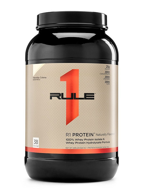 Naturally Flavored Whey Isolate/Hydrolysate Formula