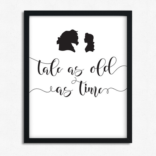 Tale As Old As Time | 9thavenueprints