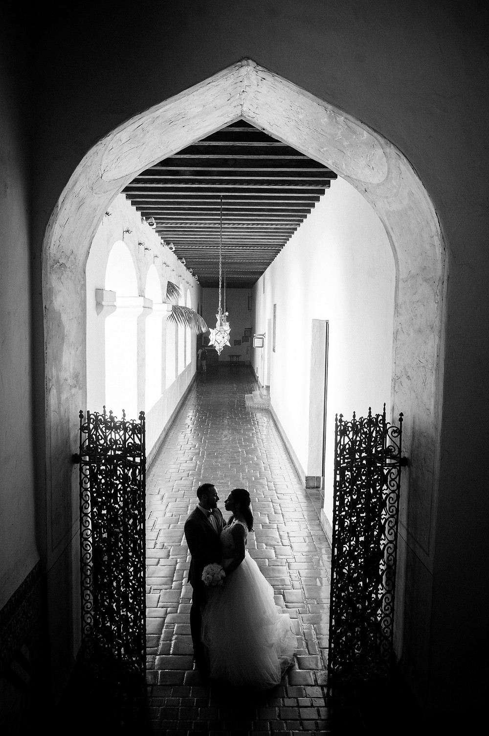 Halls of the Santa Barbara County Courthouse Photo By ByCherryPhotography